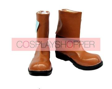 .Hack//Legend of the Twilight Hotaru Brown Cosplay Boots