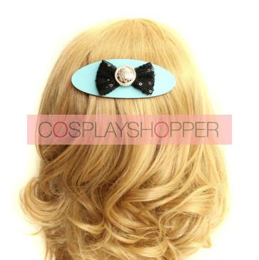 Handmade Cute Bow Lady Lolita Hairpin