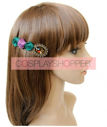 Handmade Retro Rose Lady Lolita Hairpin