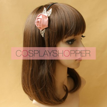 Handmade Sweet Rose Lolita Headband