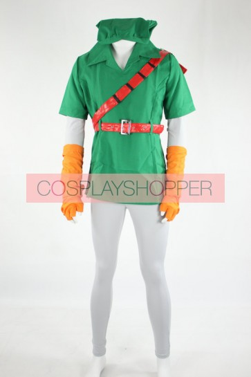 The Legend of Zelda Link Cosplay Costume - 2nd Edition