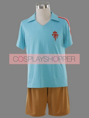 Inazuma Eleven Imperial College Summer Football Trikot Cosplay Costume
