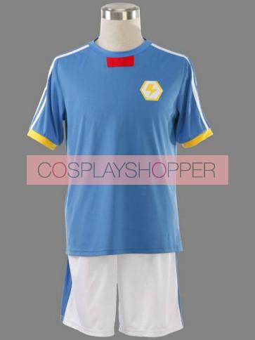 Inazuma Eleven Japanese Team Summer Football Boys Trikot Cosplay Costume