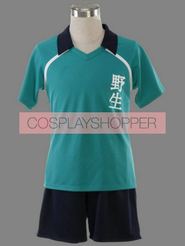 Inazuma Eleven Yasei School Soccer Uniform Cosplay Costume
