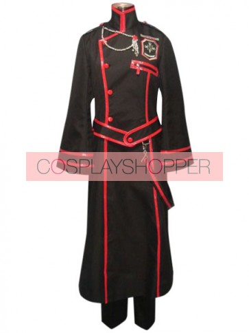 D.Gray Man Kanda Yu Cosplay Costume - 3rd Edition