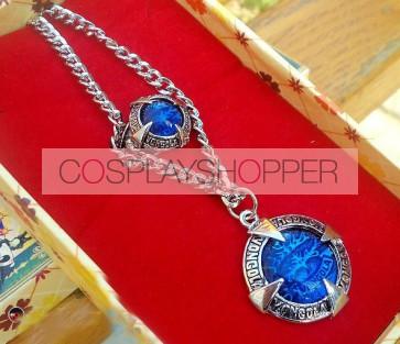 Katekyo Hitman Reborn Cosplay Necklace Ring Set