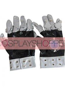 Katekyo Hitman Reborn! Kokuyo Gang Cosplay PU Metal Gloves