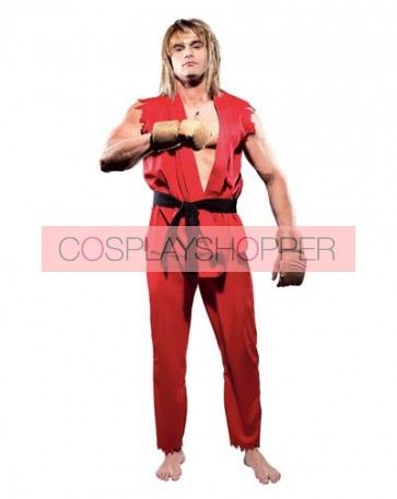 Street Fighter Ken Cosplay Costume