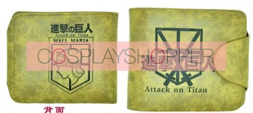 Khaki Attack On Titan Training Corps Cosplay Purse
