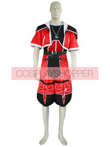 Kingdom Hearts 2 Sora Red Cosplay Costume