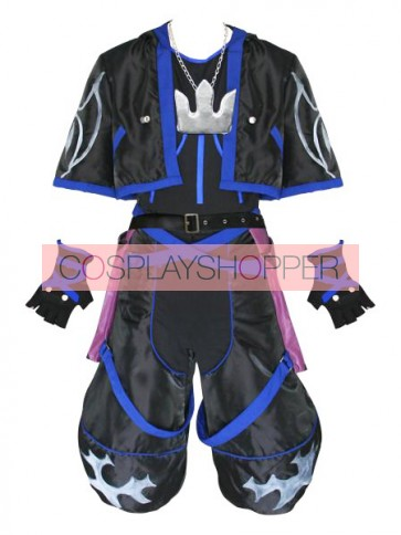 Kingdom Hearts Anti Sora Cosplay Costume