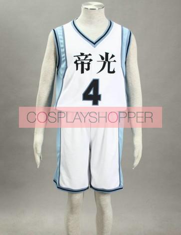 Kuroko no basuke Akashi Seijyuro Teiko Middle School Cosplay Costume