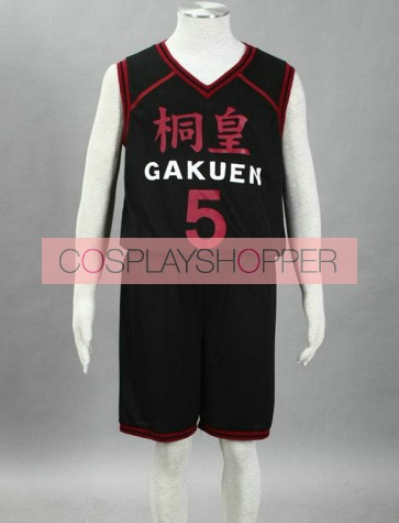 Kuroko no basuke Aomine Daiki Black Cosplay Costume