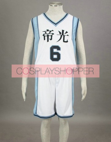 Kuroko no basuke Aomine Daiki Teiko Middle School Cosplay Costume