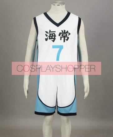 Kuroko no basuke Kise Ryouta White Cosplay Costume