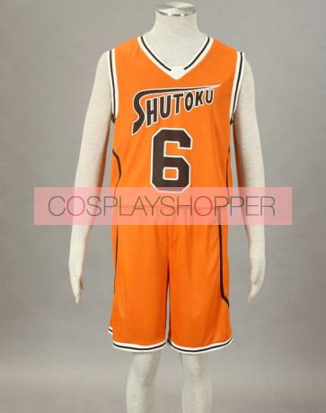 Kuroko no basuke Midorima Shintaro Orange Cosplay Costume