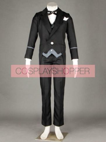 Kuroshitsuji Black Butler Claude Faustu Cosplay Costume