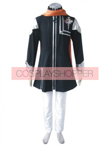 D.Gray Man Lavi Cosplay Costume - 1st Edition