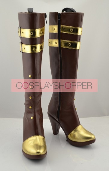 League of Legends LOL Caitlyn Cosplay Boots