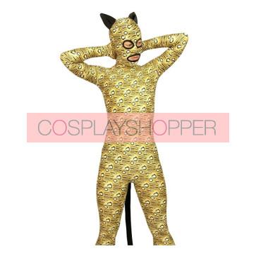 Leopard Full Body Lycra Spandex Animal Zentai Suit