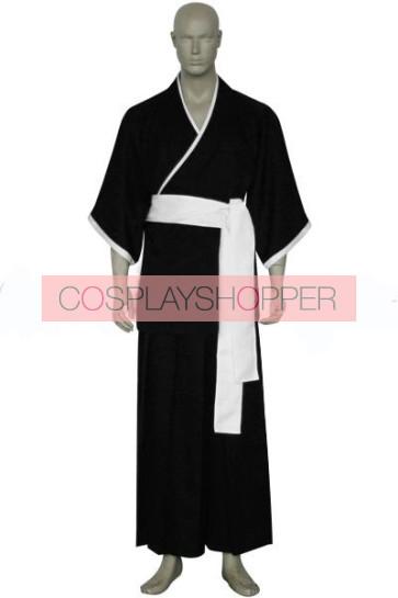 Bleach Lieutenant Shiba Kaien Cosplay Costume - 13th Division
