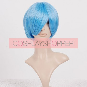 Light Blue Rei Ayanami Cosplay Wig