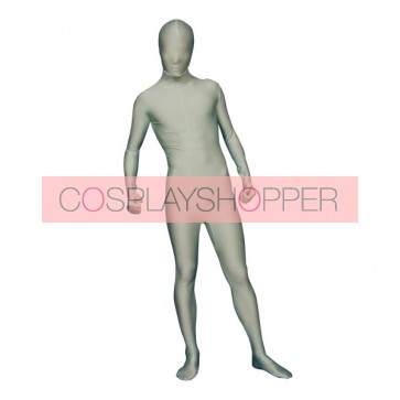 Light Cyan Full-Body Lycra Spandex Unisex Zentai Suit