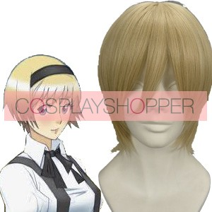 Light Gold 32cm Axis Powers Hetalia Ukraine Cosplay Wig