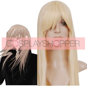 Light Gold 80cm Vampire Knight Kurosu Kaien Cosplay Wig