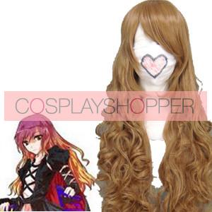 Light Golden 90cm Tonhou Project Hijiri Byakuren Nylon Cosplay Wig