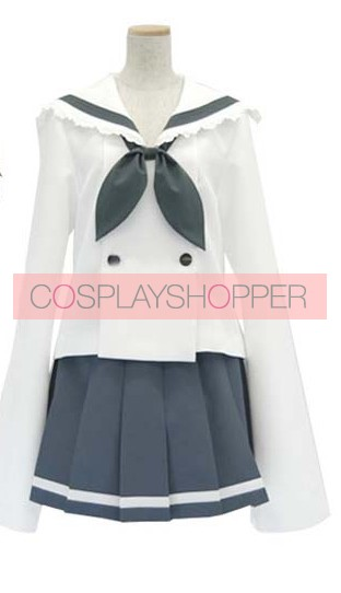 Lucky Star Akira Uniform Cosplay Costume