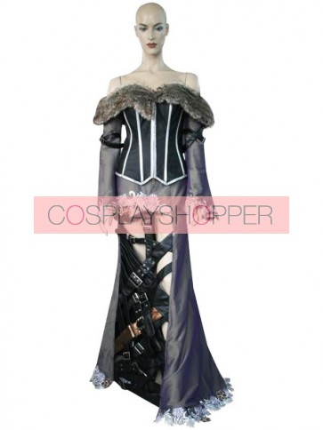 Final Fantasy X 10 Lulu Cosplay Costume