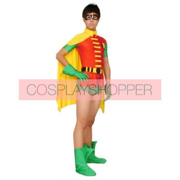 Lycra Spandex Robin Superhero Zentai Suit