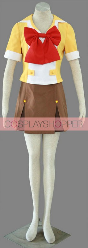 Macross Frontier Mihoshi Academy II Girl Uniform Costume