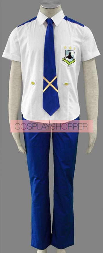 Macross Frontier Mihoshi School Uniform Cosplay Costume