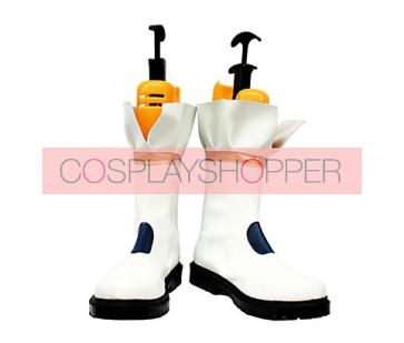 Magical Girl Lyrical Nanoha Takamachi Nanoha Battler Mode Version Cosplay Boots