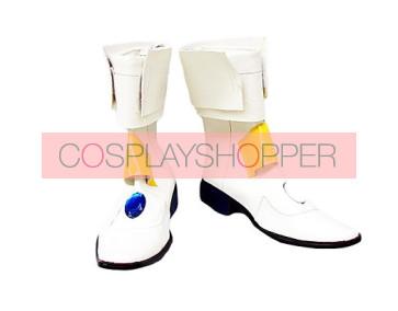 Magical Girl Lyrical Nanoha Takamachi Nanoha Cosplay Boots