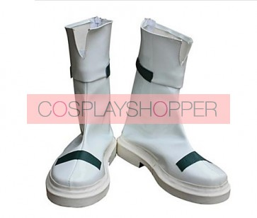 Magical Girl Lyrical Nanoha Takamachi Nanoha White Cosplay Boots