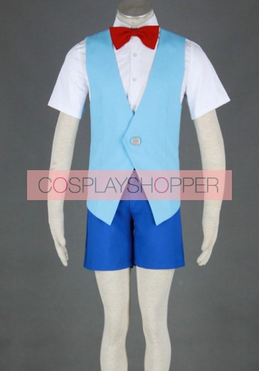 Meitantei Conan Conan Edogawa Cosplay Costume - 2nd Edition