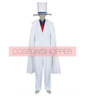 Meitantei Conan Kaito Kid Cosplay Costume