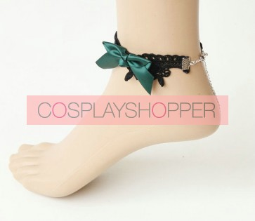 Modern Handmade Bow Girls Lolita Ankle Belt