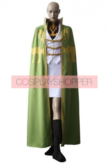 Code Geass Monica Kruszewski Cosplay Costume