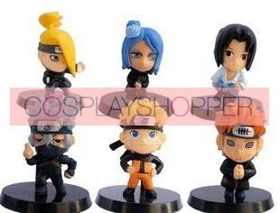Naruto Cosplay Figure Set