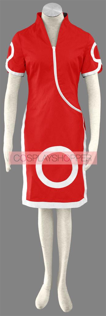 Naruto Haruno Sakura Pre-Shippuden Cosplay Costume - 1st Edition