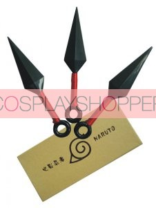 Naruto Kunai Cosplay Three Knife Set