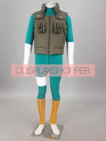 Naruto Maito Gai Cosplay Costume