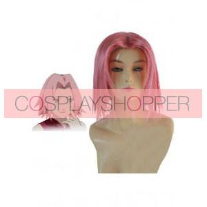 Naruto Shippuden Sakura Haruno Cosplay Wig