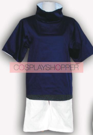 Naruto Uchiha Sasuke Cosplay Costume 1st Edition