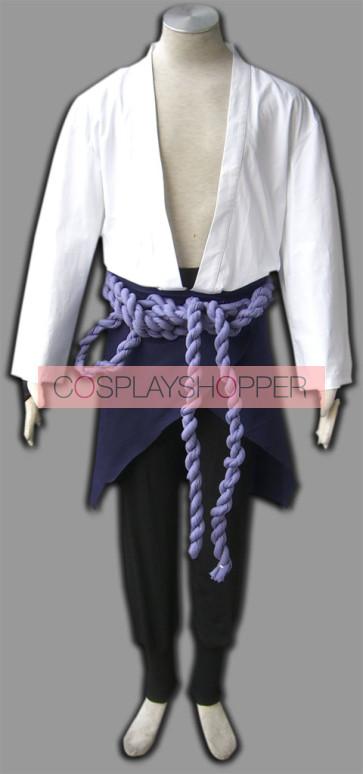 Naruto Uchiha Sasuke Cosplay Costume - 3rd Edition