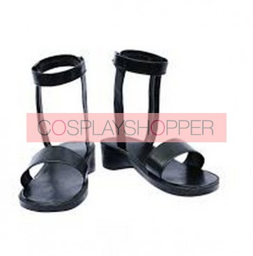 Naruto Yamanaka Ino Imitation Leather Cosplay Shoes